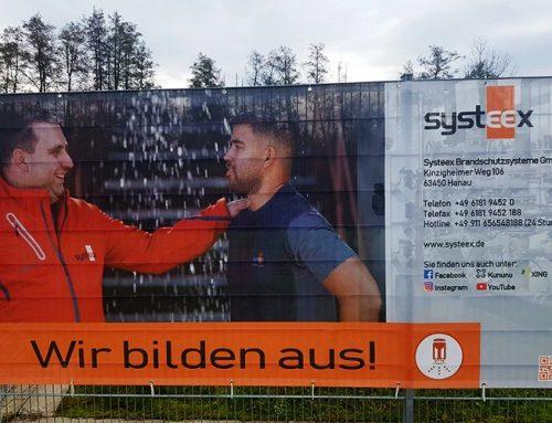 Systeex ist neuer Werbepartner des SV Steinbach