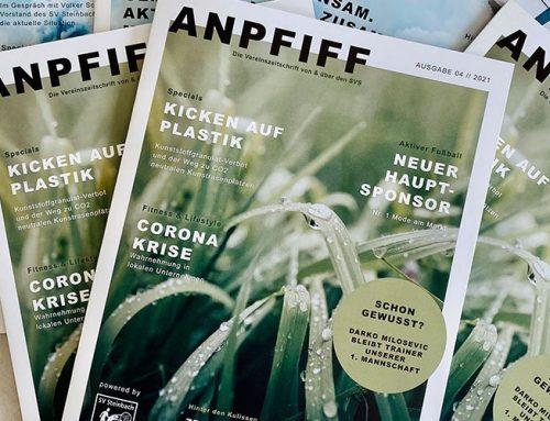 Die zweite Ausgabe des neuen ANPFIFF