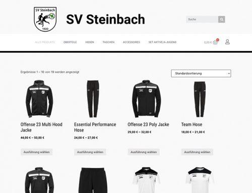 Der SVS Online-Shop startet