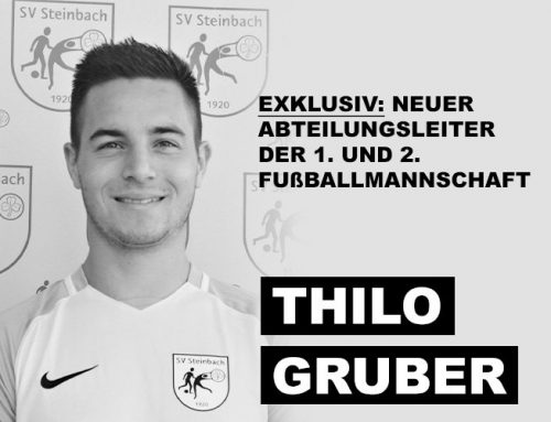 Thilo Gruber – neuer Abteilungsleiter der 1. und 2. Fußballmannschaft des SV Steinbach